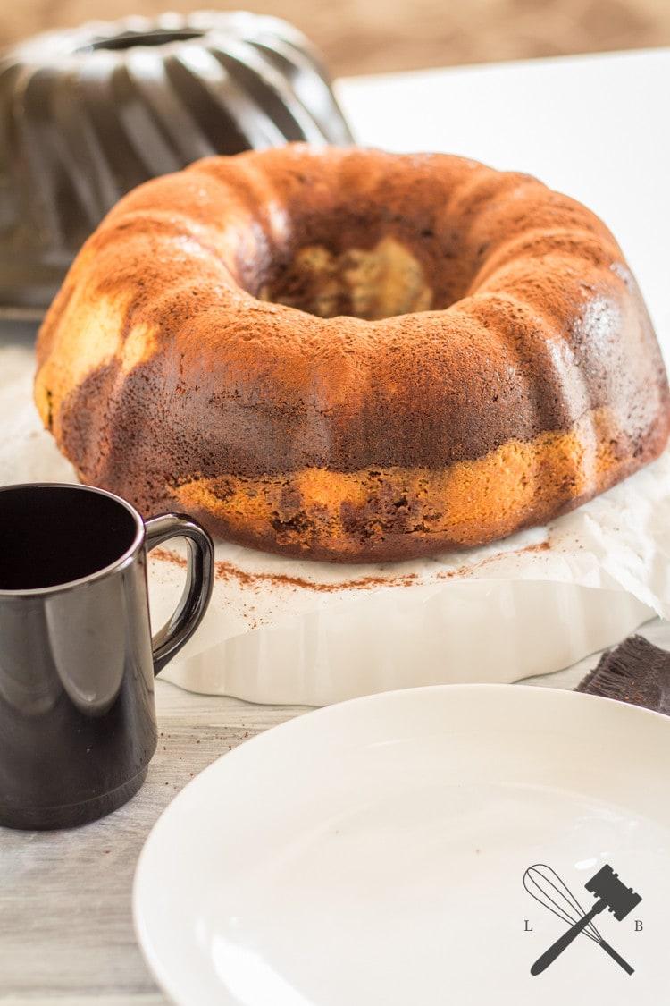 Brownie Cheesecake Guglhupf (1)