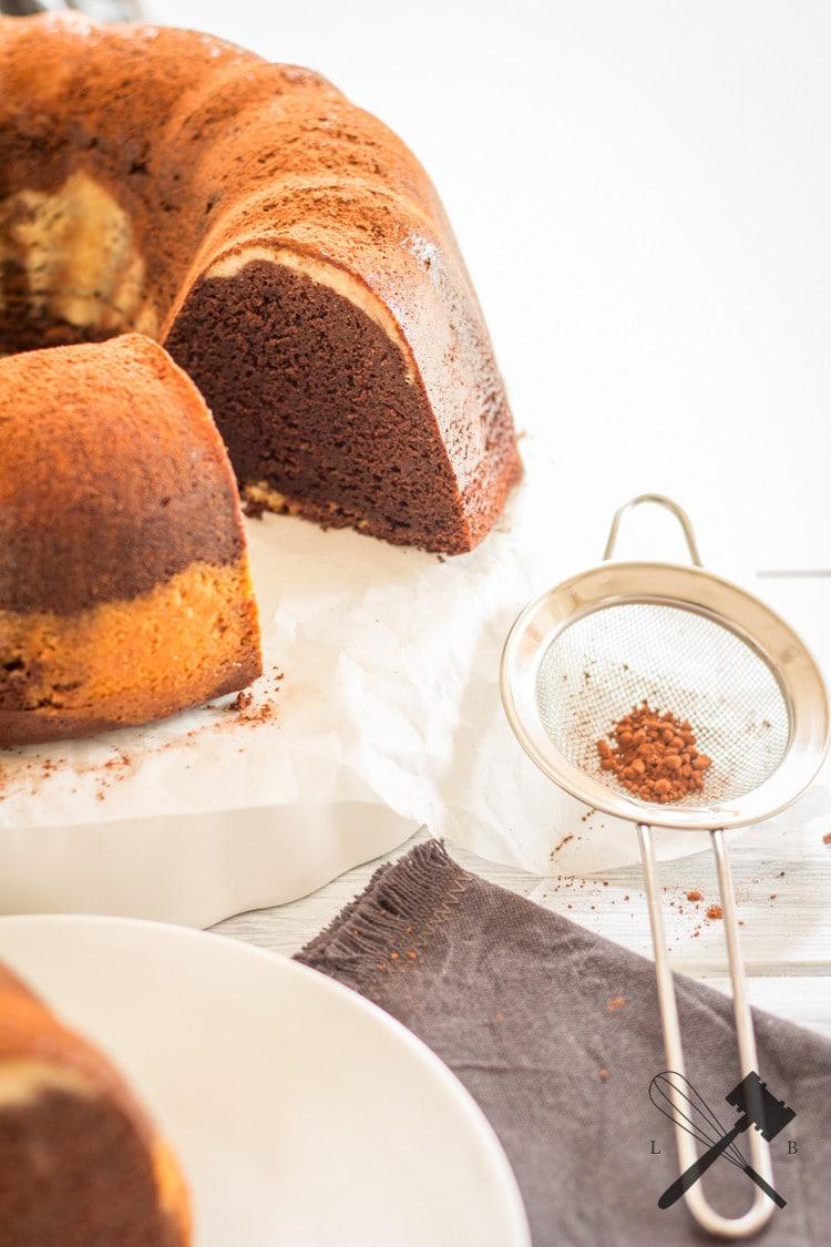 Brownie Cheesecake Guglhupf (5)