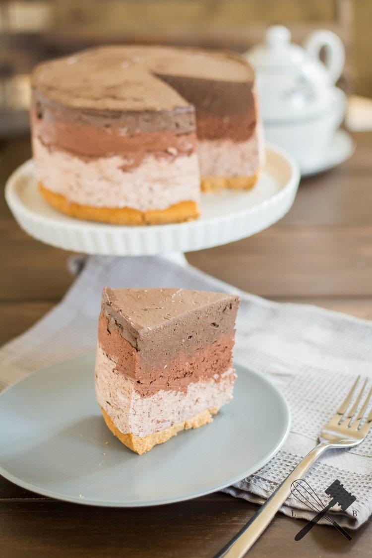 Schokoladen Ombre Cheesecake 2