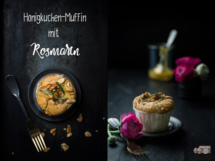 Honigkuchen-Muffins-mit-Rosmarin