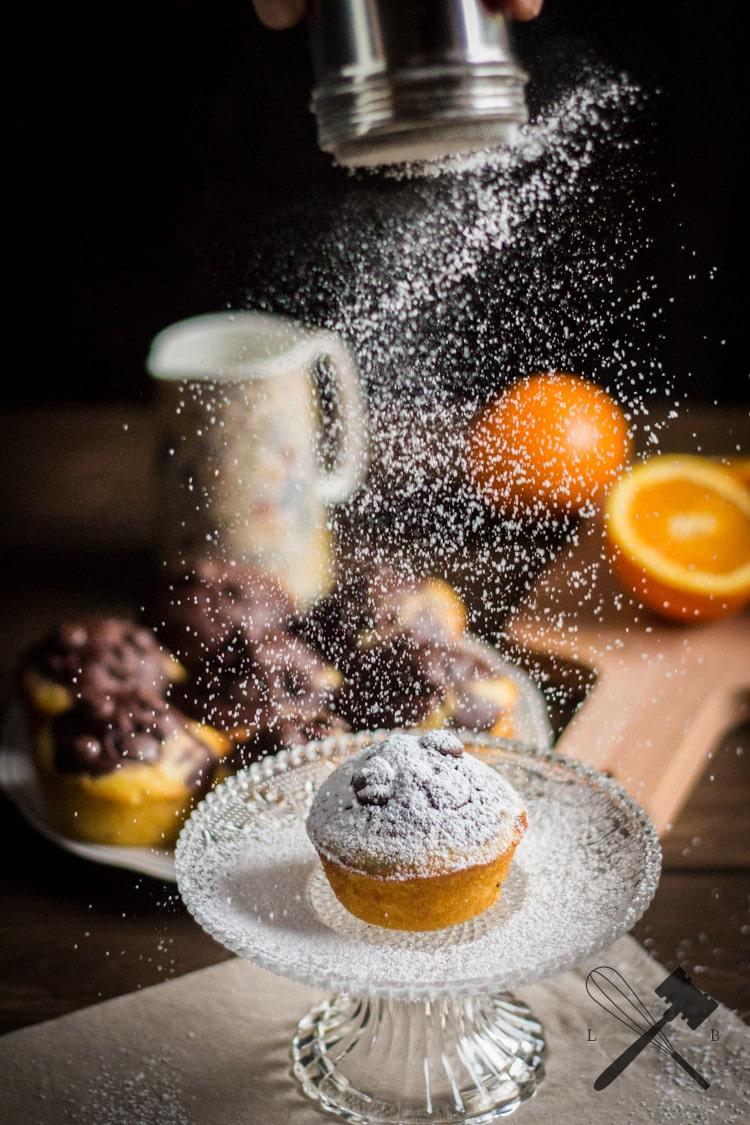 Schokolade und Orangen Muffins (2)