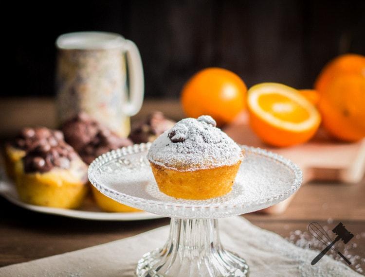 Schokolade und Orangen Muffins (3)