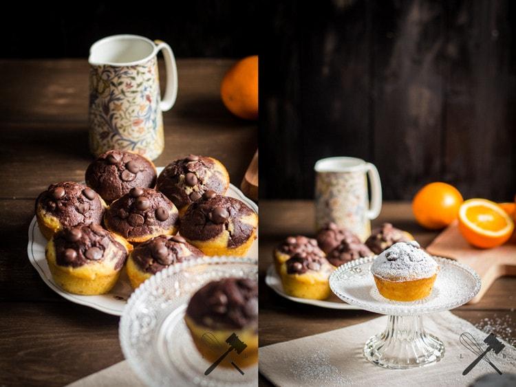 Schokolade und Orangen Muffins (4)