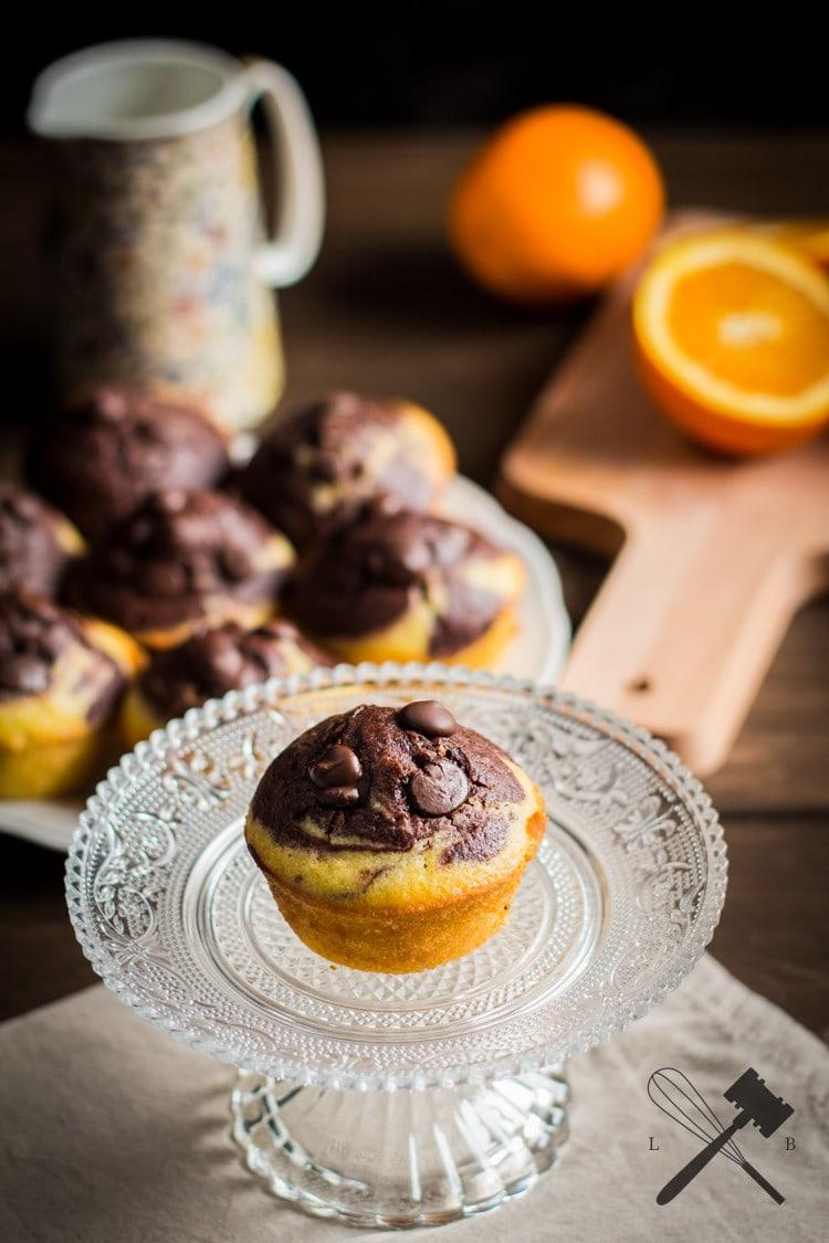 Schokolade und Orangen Muffins (5)