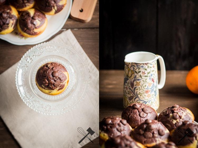 Schokolade und Orangen Muffins (6)