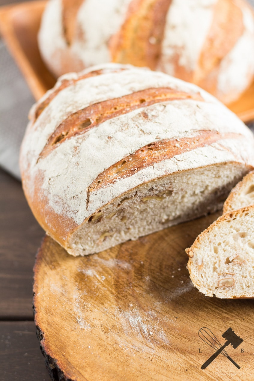 Joghurt Nuss Brot