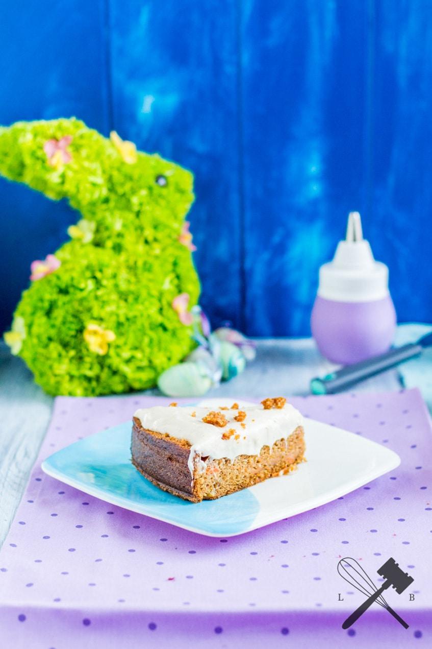 Karottenkuchen mit Mascarpone Glasur