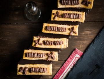 Millefeuille-de-crème-pâtissière-au-chocolat