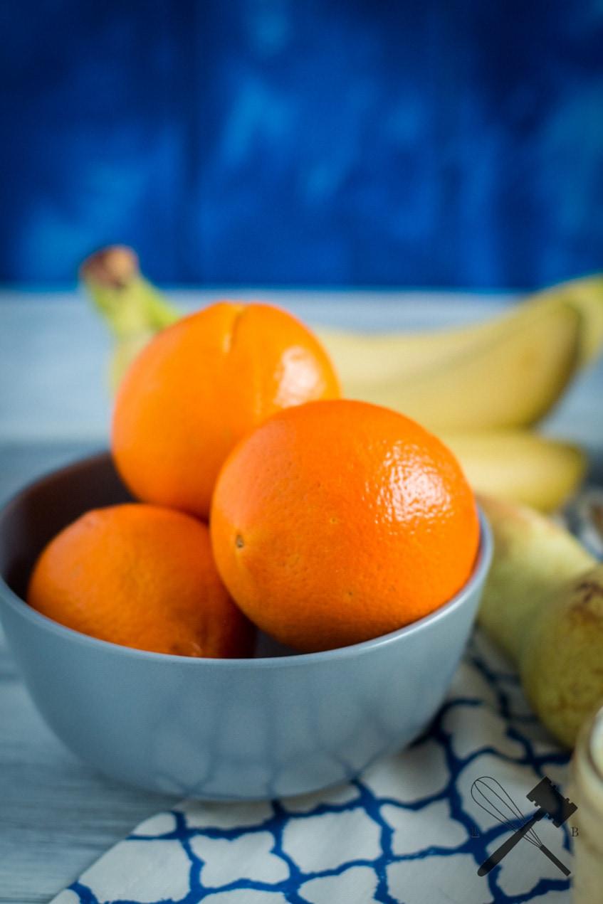 Orangen Birnen Smoothie
