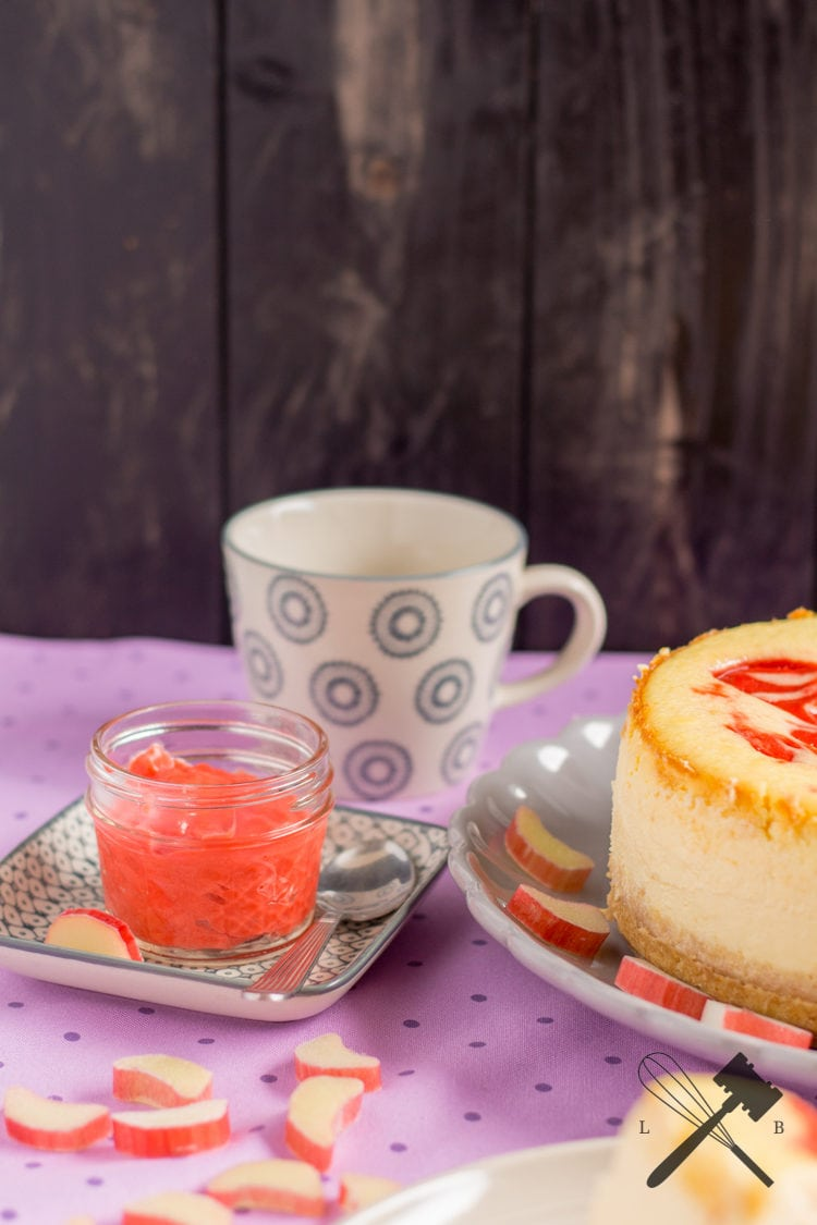 Rhabarber Curd Cheesecake 6