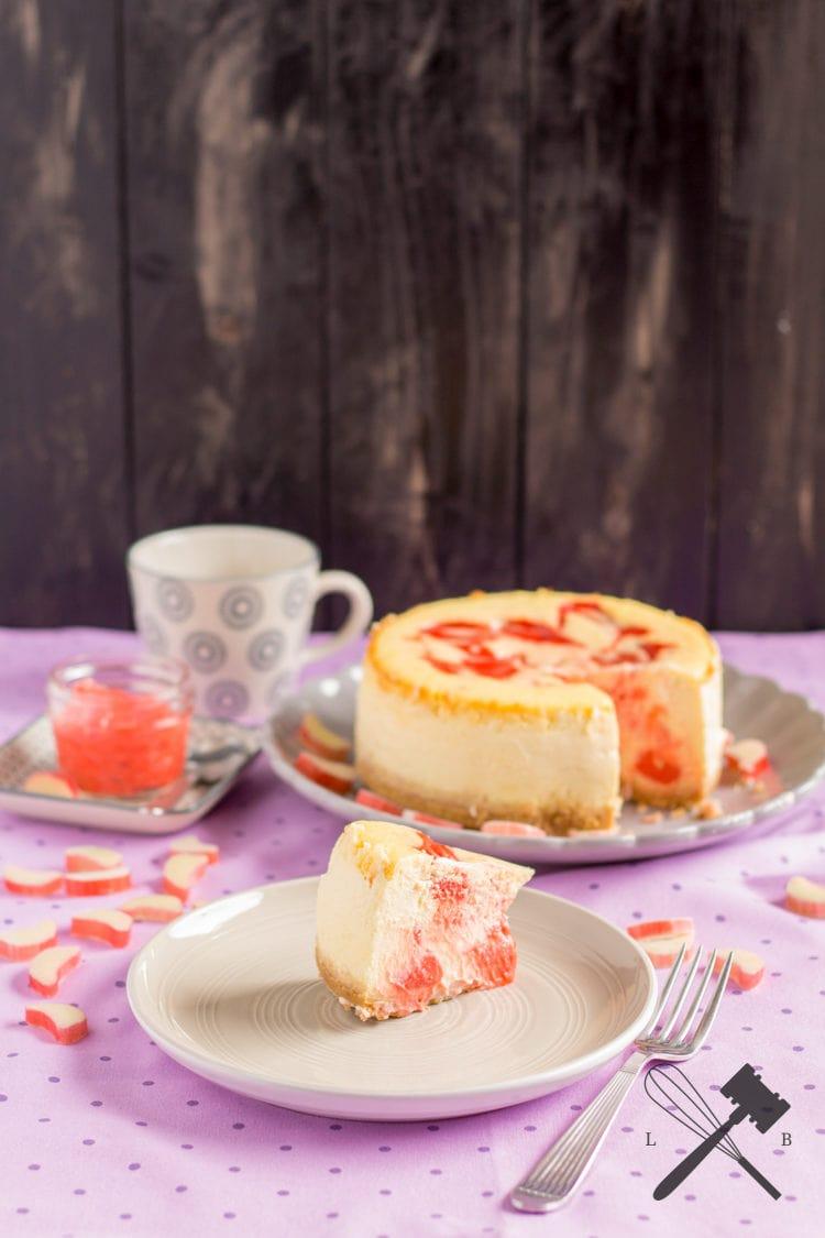 Rhabarber Curd Cheesecake 2