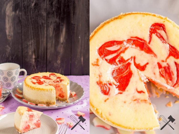 Rhabarber Curd Cheesecake 3