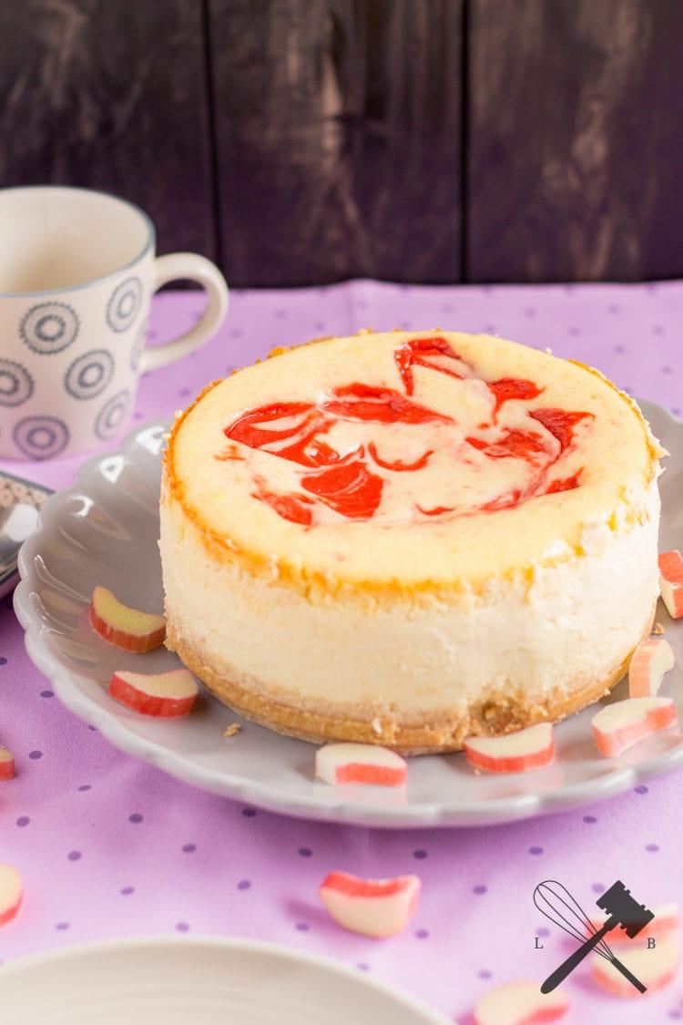 Rhabarber Curd Cheesecake 4