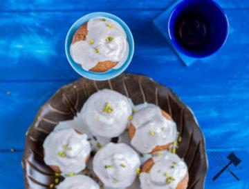 Pistazien Zitronen Muffins