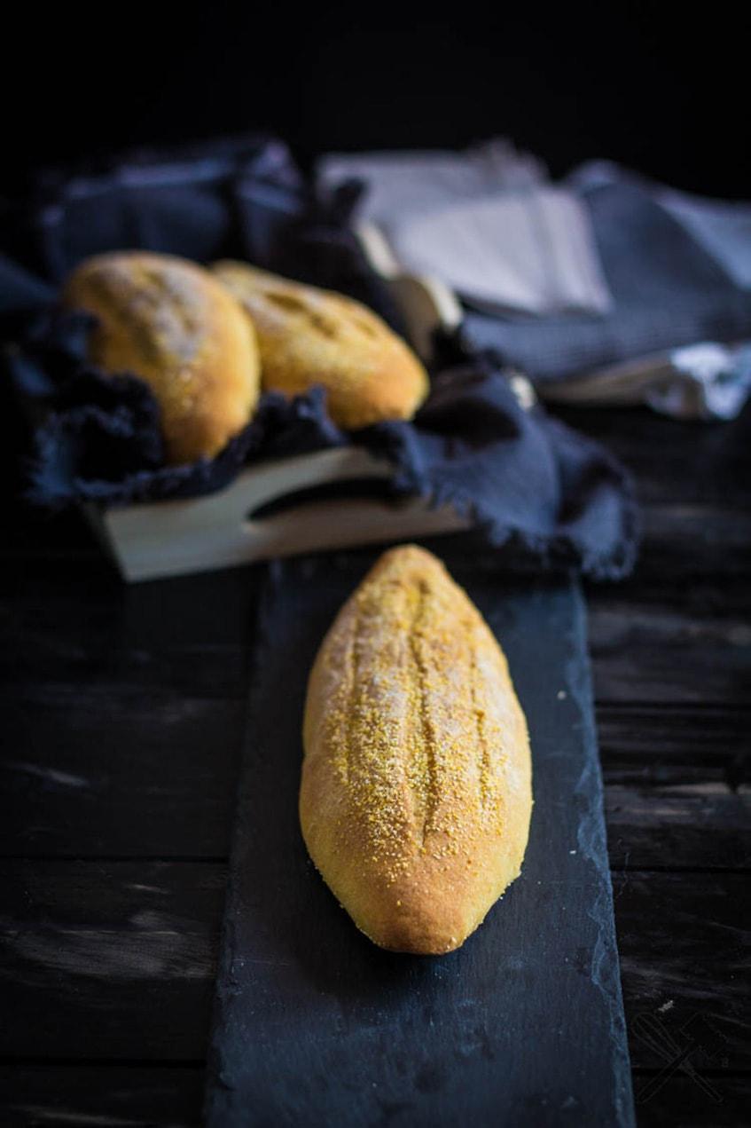 Peruanisches Maisbrot