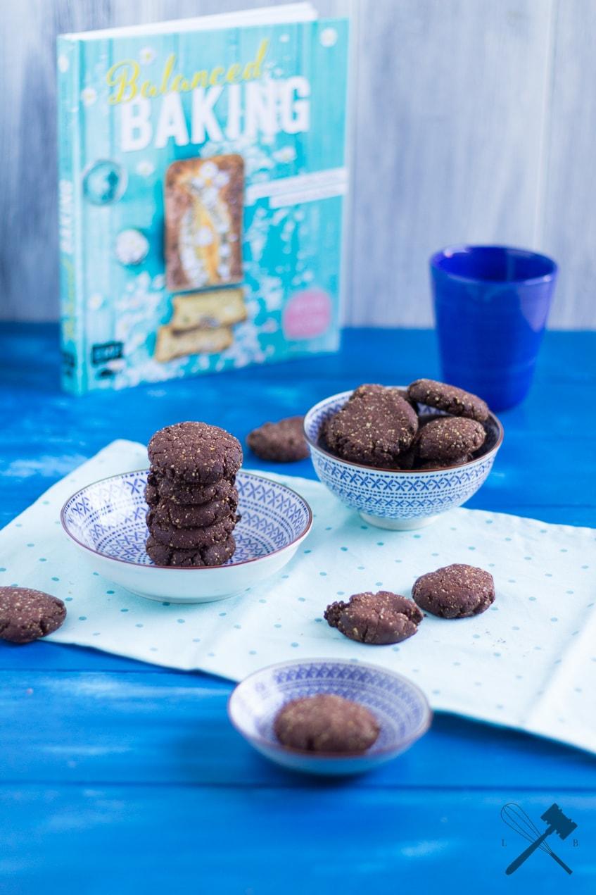 Schoko Haselnuss Kekse