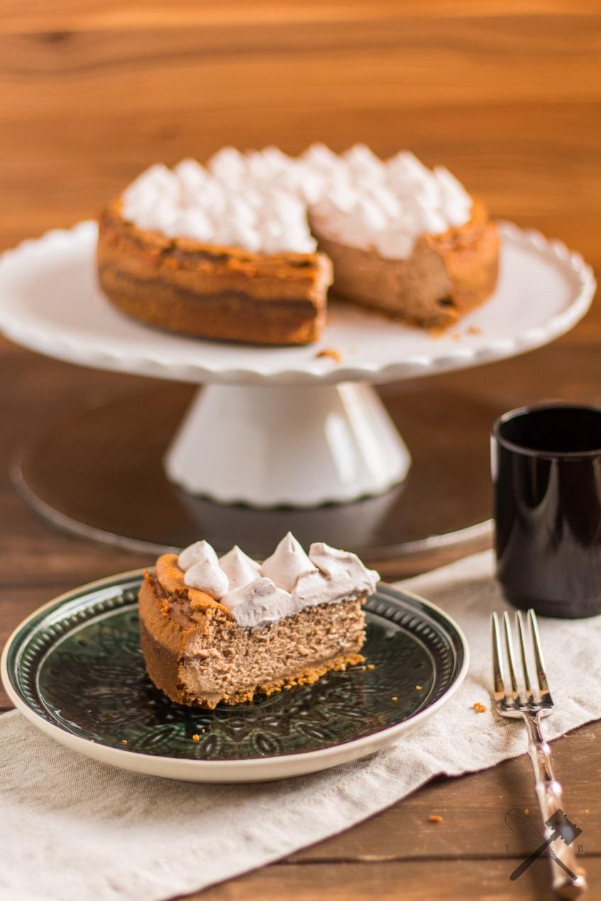 Nuss-Nougat Cheesecake