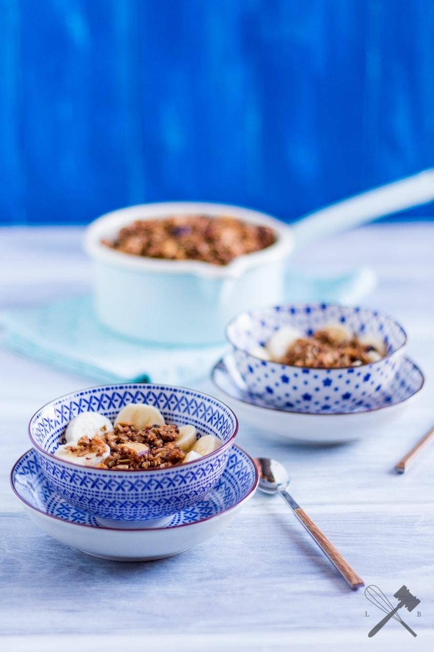 Quinoa Kokos Granola