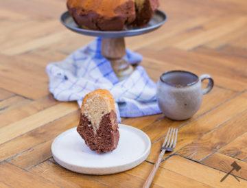 Zimt-Schoko Marmorkuchen