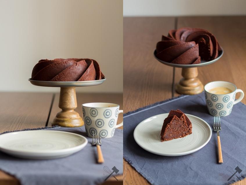 Klassischer Schokoladengugelhupf