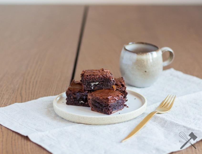 Oreo Brownies und ein guter Einstand