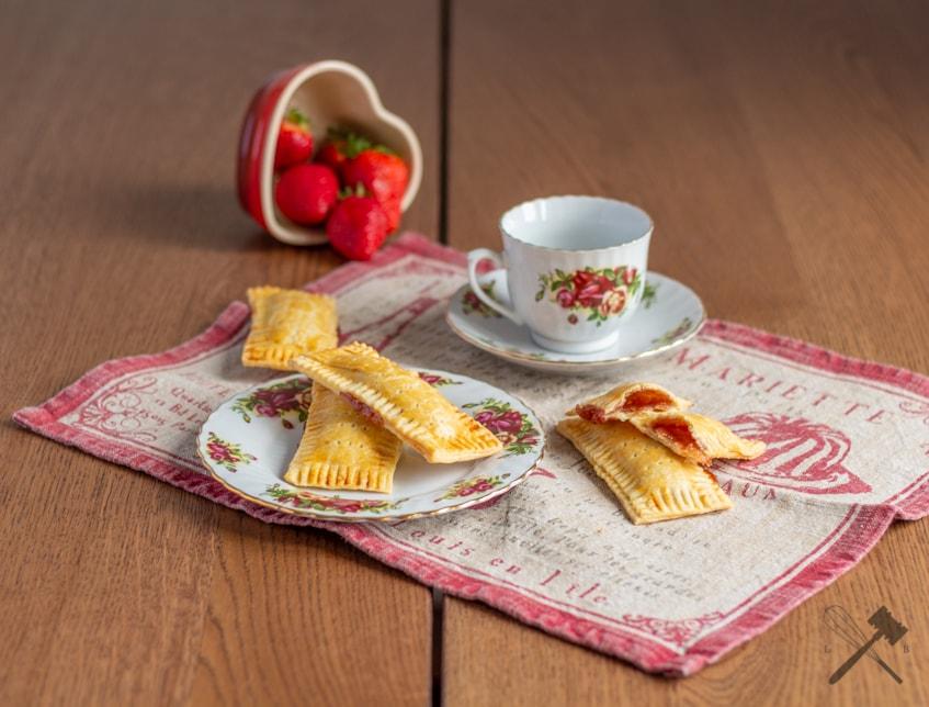 Erdbeeren Poptarts – Der kleine Snack zwischendurch