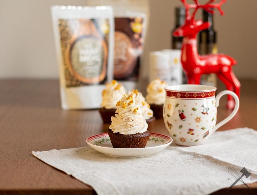 Zimt Cupcakes mit Hanfmehl
