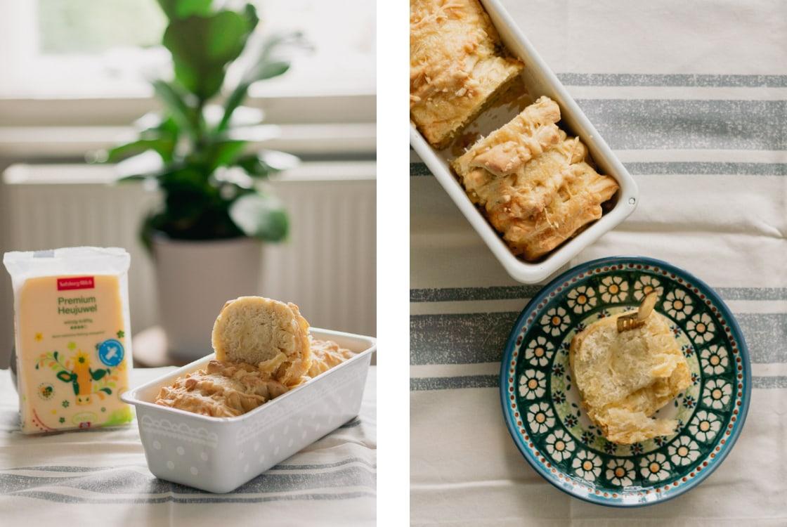 Käse & Kräuter Zupfbrot